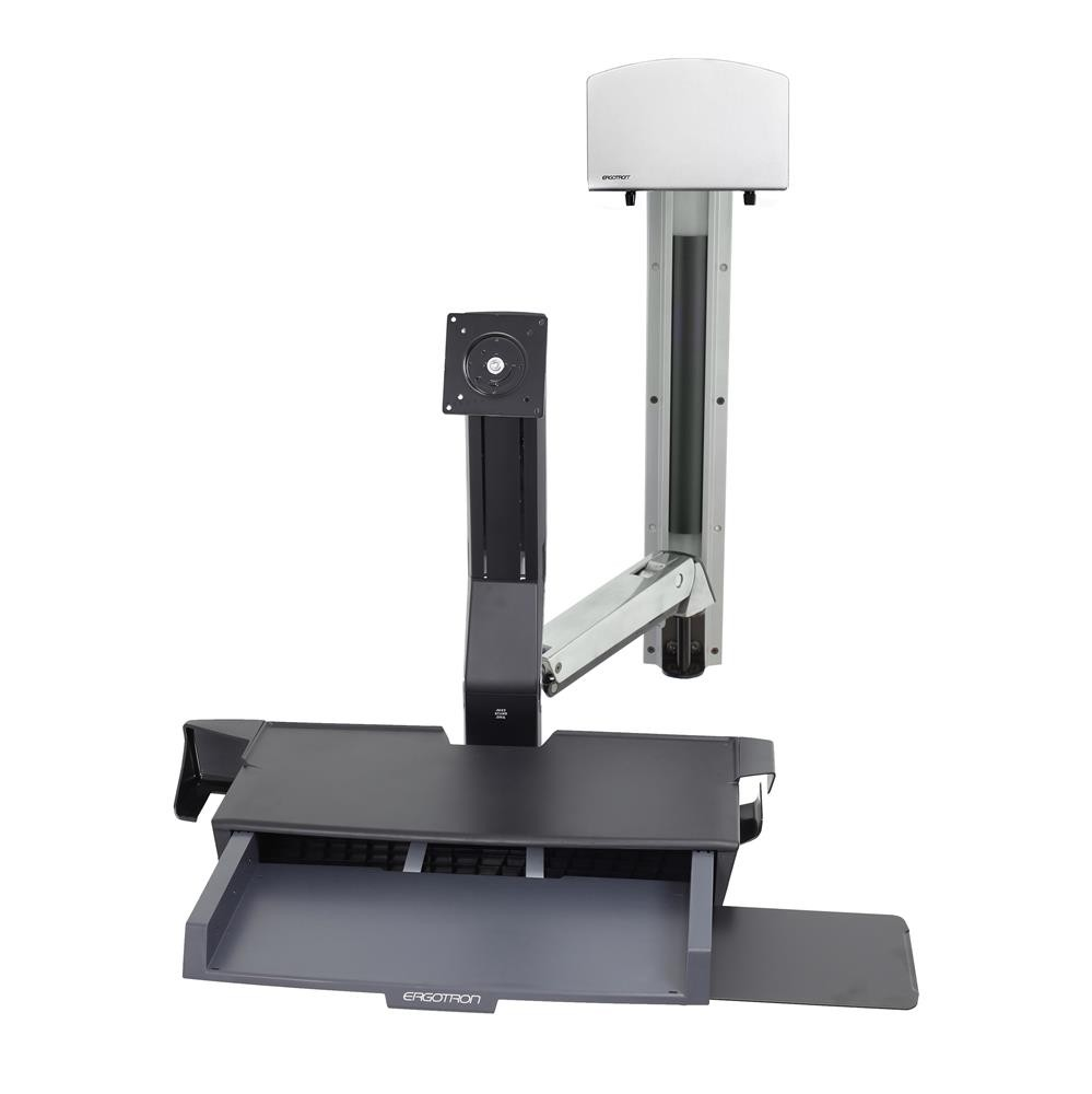StyleView Sit-Stand Combo System with Worksurface 45-270-216