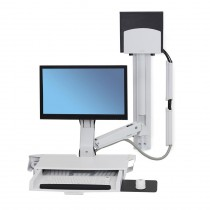ERGOTRON StyleView Sit-Stand Combo System with Worksurface (45-270-026)