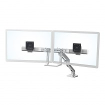 Ergotron HX Desk Dual Monitor Arm, Polished 45-476-026
