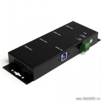 StarTech Mountable 4 Port Rugged Industrial SuperSpeed USB 3.0 Hub ST4300USBM