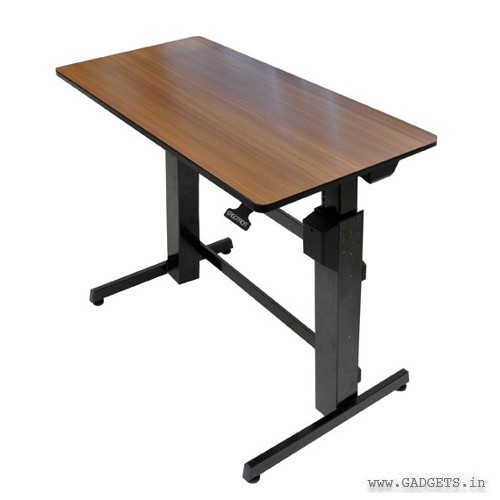 Ergotron WorkFit-D Sit-Stand Desk Walnut 24-271-927