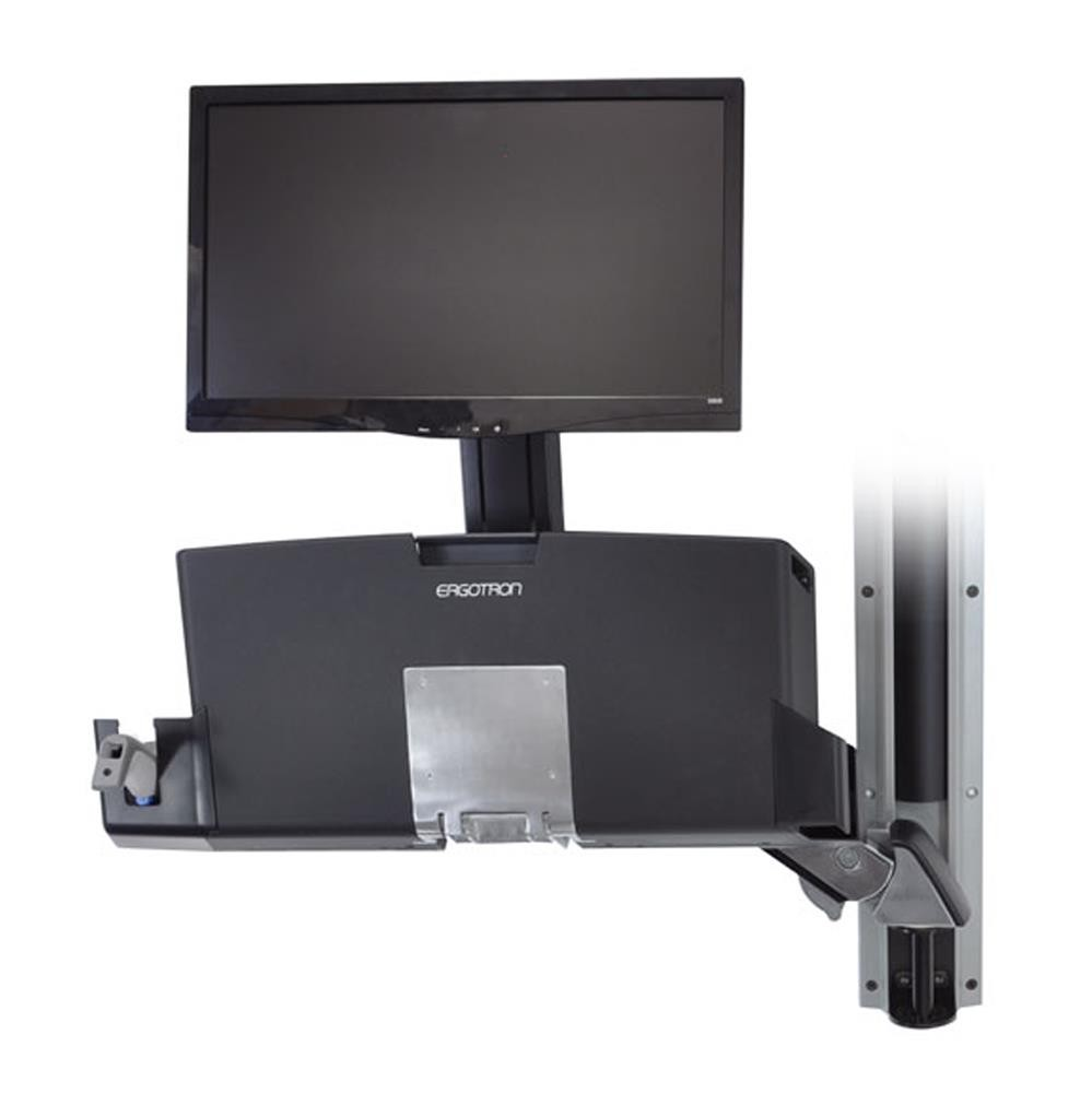 ERGOTRON StyleView Sit-Stand Combo Arm with Worksurface (45-260-026)