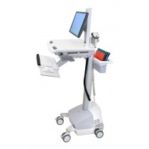 Ergotron StyleView Cart with LCD Pivot, SLA Powered SV42-6301