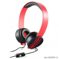 CLiPtec Urban Remixx Multimedia Stereo Headset Red BMH832