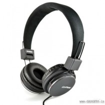 CLiPtec Urban Reaction Multimedia Stereo Headset Black BMH835