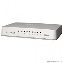 Netgear FS208-100UKS 8 Port Fast Ethernet 10/100 Mbps Switch
