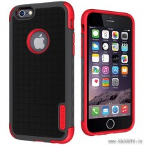 Cygnett Workmate Case for iPhone 6 Grey Red CY1668CPWOR