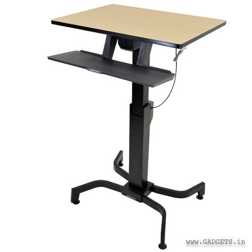 Ergotron WorkFit-PD Sit-Stand Desk Birch 24-280-928