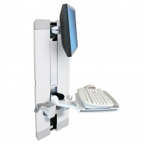 Ergotron StyleView® Vertical Lift, Patient Room (white) 60-609-216
