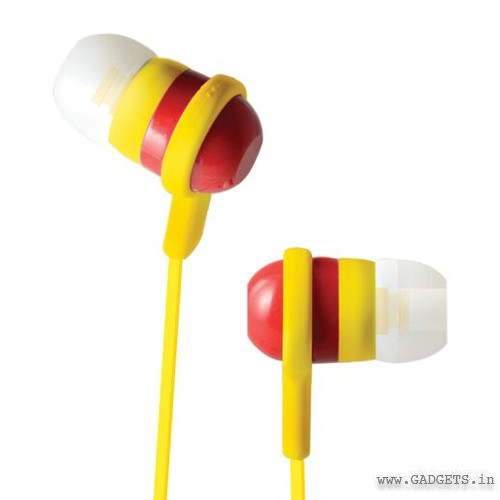 CLiPtec Rainbow Spark In-Ear Earphone Red BME515