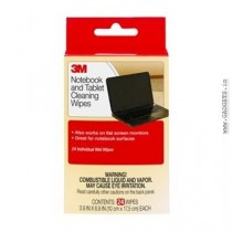 3M CL630 NOTEBOOK SCREEN CLEANING WIPES (3 Pieces)