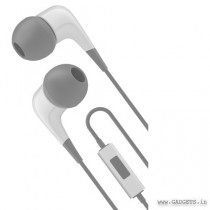 Cygnett 2XS Wired Earphone with Mic White Grey CY1722HEWIR