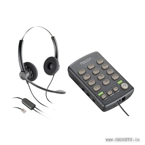 Plantronics Practica T110 Headset and Dialpad