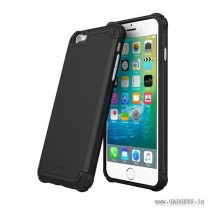 Exec Tough Pro Slim Fit Armor Case Cover for Apple iPhone 6 / 6S (2015), Granite Black