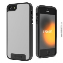 Cygnett Apollo Fused Case for iPhone 5/5S White and Grey (CY0865CPAPO)