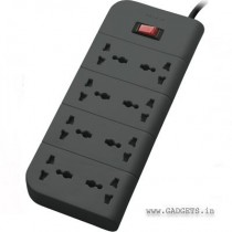 Belkin 8-Socket Surge Protector Economy Series(F9E800zb2M-GRY)