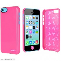 Cygnett Pink Form Hard Plastic case For iPhone 5C - CY1250CPFOR
