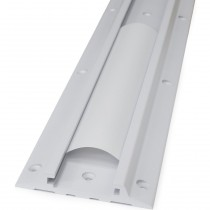 """34"""" Wall Track, Bright White Texture 31-018-216"""