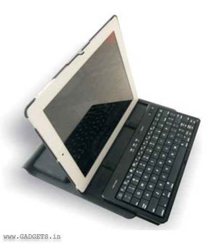 Neopack 360 Degree Rotation Case For Ipad 2 Black-Grey - 13GY3