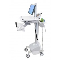 Ergotron StyleView Cart with LCD Pivot, LiFe Powered SV42-6302