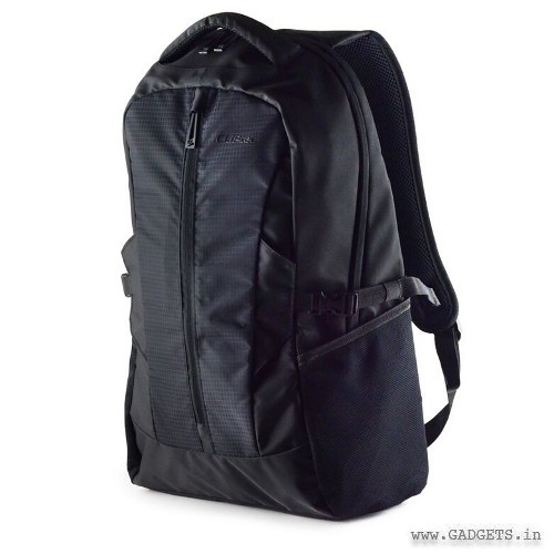 CLiPtec MOMENTUM 14.1in Notebook Backpack CFP103 Black