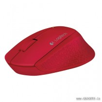 Logitech M280 Wireless Mouse Red 910-004296