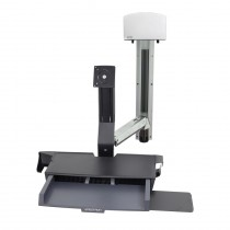 ERGOTRON StyleView Sit-Stand Combo System with Worksurface (45-270-216)