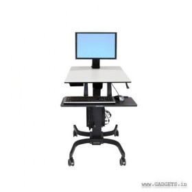 ERGOTRON WorkFit-C Single LD Sit-Stand Workstation (24-215-085)