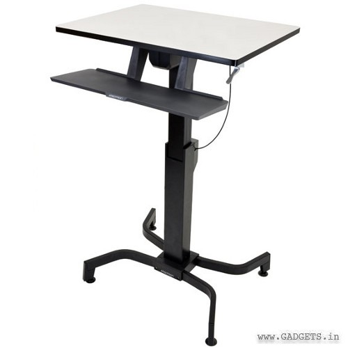 Ergotron WorkFit-PD Sit-Stand Desk Light Grey 24-280-926