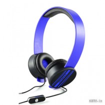 CLiPtec Urban Remixx Multimedia Stereo Headset Blue BMH832