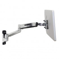 ERGOTRON LX HD Sit-Stand Wall Mount LCD Arm Polished (45-383-026)