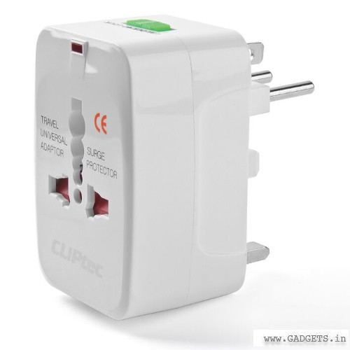 CLiPtec Universal Travelling Plug Adapter White GZJ130