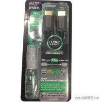 UltraProLink HDMI 1.4v Cables - UL270-0200 with Free Cleaning Kit
