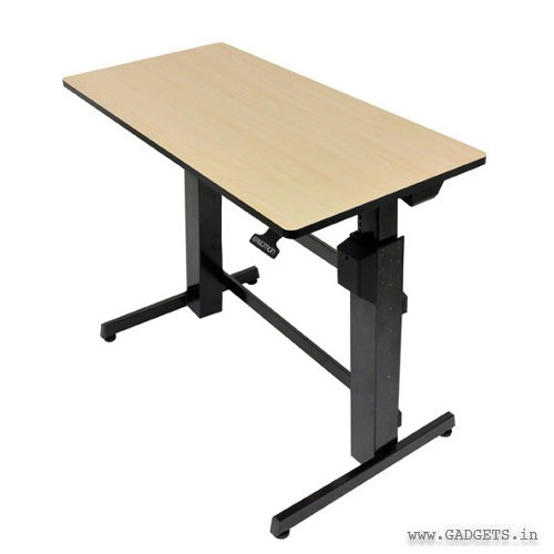 Ergotron WorkFit-D Sit-Stand Desk Birch 24-271-928