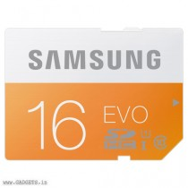 Samsung SDHC SD 16GB Class 10 Memory Card - MB-SP16D/IN