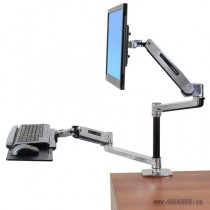 Ergotron WorkFit-LX Sit-Stand Desk Mount System 45-405-026