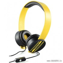 CLiPtec Urban Remixx Multimedia Stereo Headset Yellow BMH832