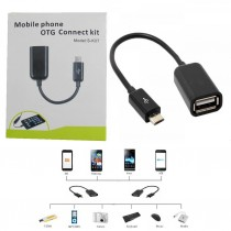 IBALL Micro USB OTG Cable for Tablets and Mobiles