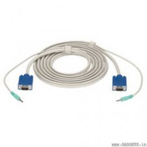 VGA Cable along with Audio (3 Meter)