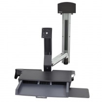 StyleView Sit-Stand Combo System with Worksurface 45-272-026